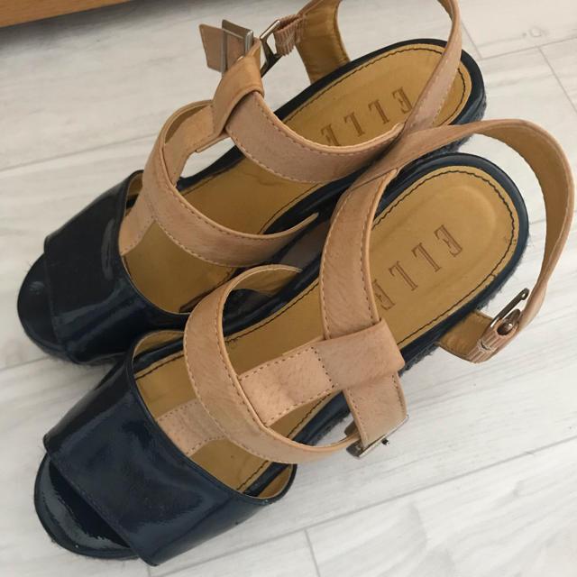 ELLE(エル)のELLE サンダル レディースの靴/シューズ(サンダル)の商品写真