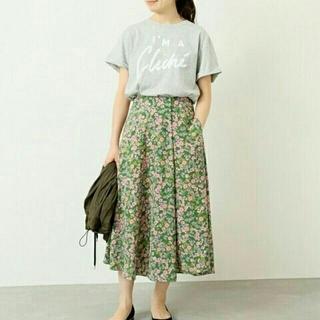 IENA - IENA フラワープリントスカート 34