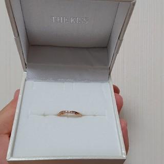 ザキッス(THE KISS)のピンキーリング(リング(指輪))