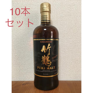 アサヒ - 10本セット《竹鶴》700ml  ピュアモルト ウイスキー 新品未開栓