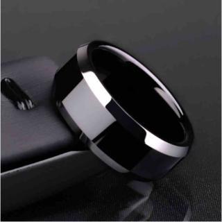 チタンブラックリング (ブラック)(リング(指輪))