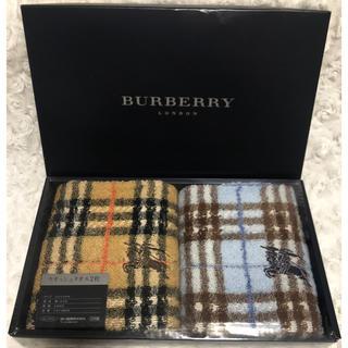 バーバリー(BURBERRY)の《新品》バーバリー ロンドン ウォッシュタオル2枚セット(その他)