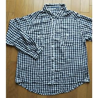 ジエンポリアム(THE EMPORIUM)の【THE EMPORIUM】ギンガムチェックシャツ(シャツ/ブラウス(長袖/七分))