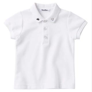 familiar - 現行品‼️  familiar    半袖ポロシャツ   size  110cm