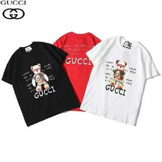Gucci - 【新品、未使用】Tシャツ 半袖 男女兼用 [1枚2980円送料込み]