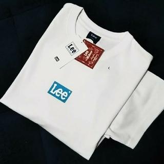 Lee - 〓新品タグ付き〓 LEE ボックスロゴTシャツ/ロゴカラー【ブルー】/L