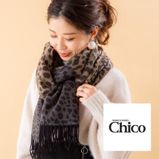 who's who Chico - 新品未開封 フーズフーチコ レオパードストール