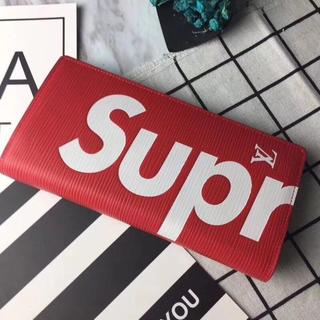 Supreme - 大人気 Supreme & Louis Vuitton 折り財布