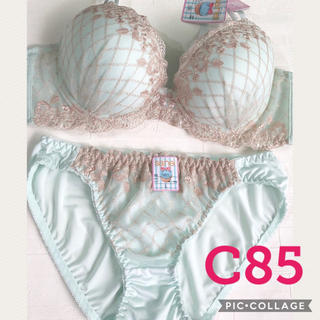 ブラジャー&ショーツ♡C85(ブラ&ショーツセット)
