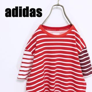 アディダス(adidas)のadidas originals アディダス オリジナルス ボーダー Tシャツ (Tシャツ/カットソー(半袖/袖なし))