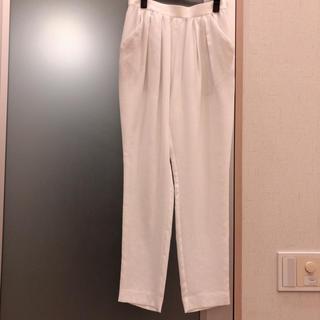 ENFOLD - 新品 ENFOLD パンツ ホワイト 白