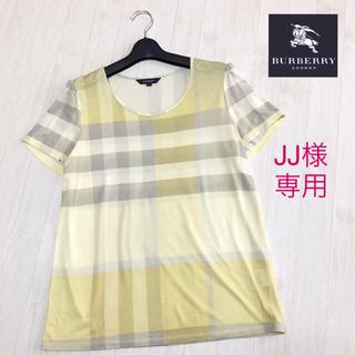 BURBERRY - 美品☆バーバリーロンドン 半袖カットソー 大きいサイズ