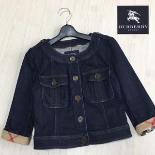 BURBERRY - バーバリーロンドン 七分袖 デニムジャケット 38サイズ