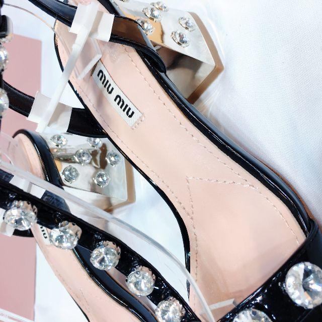 miumiu(ミュウミュウ)のmiumiu サンダル レディースの靴/シューズ(サンダル)の商品写真