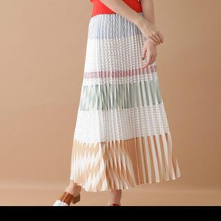 GRACE CONTINENTAL - グレースコンチネンタル  ミックスプリーツスカート