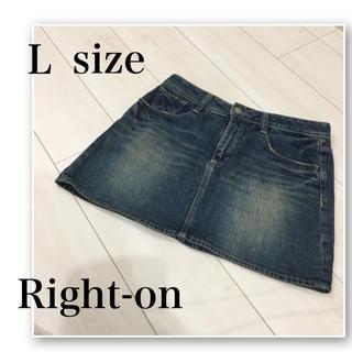ライトオン(Right-on)のRight-on♡デニムミニスカート♡デニム スカート♡gu.AZUL.WEGO(ミニスカート)