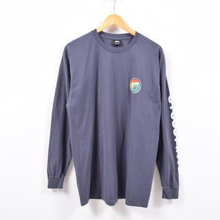 ステューシー(STUSSY)のSTUSSY バックプリント 袖プリント ロングTシャツ  (Tシャツ/カットソー(七分/長袖))