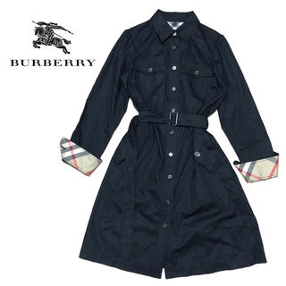 BURBERRY - 【値下げ交渉あり!】バーバリーロンドン ワンピース ブラック レディースM