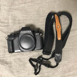 キョウセラ(京セラ)のcontax aria ボディー (電池、ポートラフィルム付)(フィルムカメラ)
