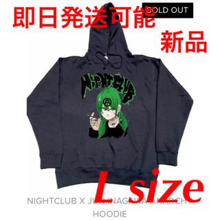 Supreme - NIGHTCLUB x JUN INAGAWA ジュンイナガワ パーカー L