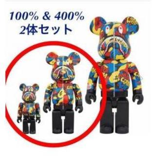 MEDICOM TOY - メディコムトイ エキシビション エイプ ベアブリック 100% 400%