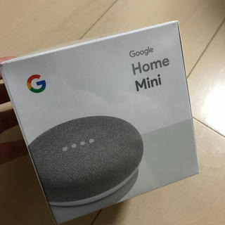 【新品未使用】Google Home Mini