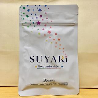 送料込【新品未開封】SUYARi すやり 国産GABA 睡眠サプリ 1袋(その他)