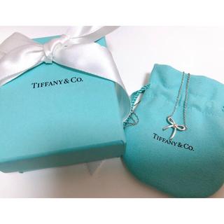 Tiffany & Co. - Tiffany&Co ネックレス リボン
