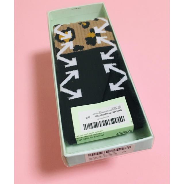 OFF-WHITE(オフホワイト)のオフホワイト 靴下 ソックス メンズのレッグウェア(ソックス)の商品写真