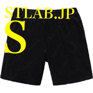 Supreme - 黒 S Supreme Terry Jacquard Logo Short