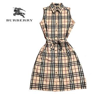 BURBERRY - 【値下げ交渉あり!】バーバリーロンドン ノバチェック ワンピース