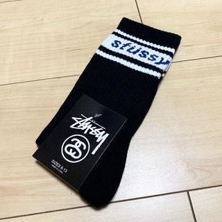 STUSSY - STUSSY LINE LOGO SOCKS ステューシー  靴下