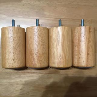 ムジルシリョウヒン(MUJI (無印良品))の無印良品 脚 木製 ソファー ナチュラル 10cm(その他)