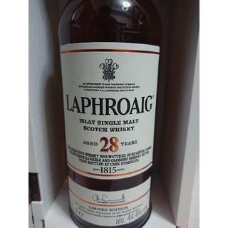 lavege20様用 ラフロイグ 28年 44.4% オフィシャルボトル(ウイスキー)