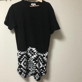 オルテガ柄 Tシャツ(Tシャツ/カットソー(半袖/袖なし))