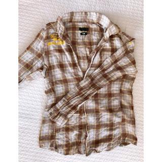 ティーエムティー(TMT)の【美品】jun hashimoto TMT コラボ ネルシャツ チェックシャツ(シャツ)