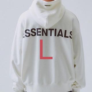 フィアオブゴッド(FEAR OF GOD)のFOG ESSENTIALS pullover hoodie L 2019(パーカー)
