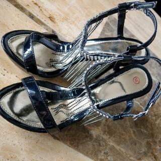 レディース靴 ハイヒールサンダル22センチ(ハイヒール/パンプス)