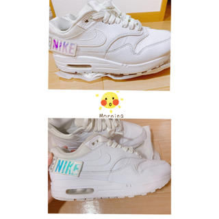 NIKE - Nike スニーカー air max マジックテープ