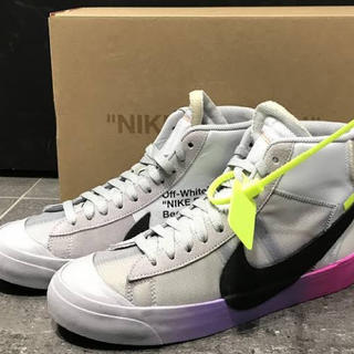オフホワイト(OFF-WHITE)のBLAZER MID SERENA WILLIAMS QUEEN (スニーカー)