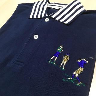 ゴルフ刺繍 ポロシャツ♪(ポロシャツ)