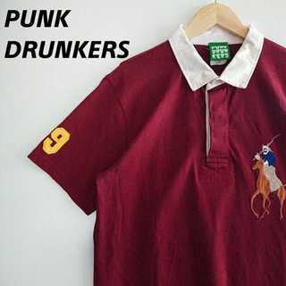 パンクドランカーズ(PUNK DRUNKERS)の690 パンクドランカーズ ポロシャツ 般若 ポニー カワイイ(ポロシャツ)