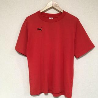 プーマ(PUMA)のPUMA プーマ 赤Tシャツ(Tシャツ/カットソー(半袖/袖なし))