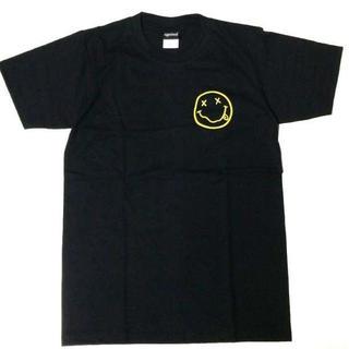 〇ニルヴァーナ Tシャツ チョビニコ 2 イエロー ブラック ニルバーナ M(Tシャツ/カットソー(半袖/袖なし))