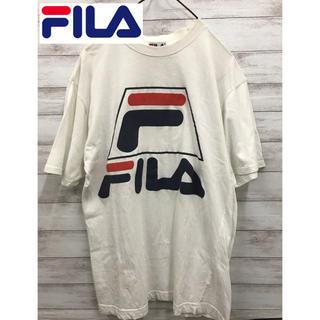 フィラ(FILA)のビンテージFILA(フィラ) メンズ ロゴ Tシャツ Mサイズ(Tシャツ/カットソー(半袖/袖なし))