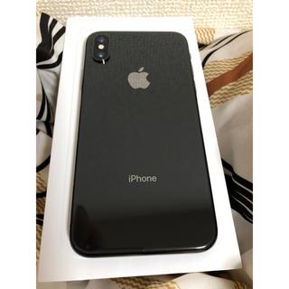 iPhone - 【極美品】iPhone X 256 GB スペースグレー SIMフリー