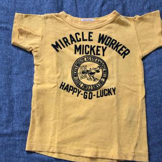 デニム&ダンガリー ミッキーコラボTシャツ  サイズ100
