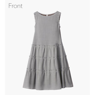"FOXEY - Dress ""Millefeuille"" (Sophie Gray) 新品 42"