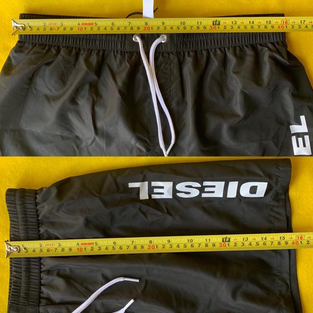 DIESEL(ディーゼル)の【新品】DIESEL  水着 ブラック  M メンズの水着/浴衣(水着)の商品写真