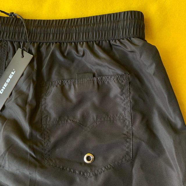DIESEL(ディーゼル)の【新品】DIESEL  水着 ブラック  S メンズの水着/浴衣(水着)の商品写真